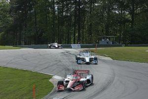 Marcus Ericsson, Chip Ganassi Racing Honda, Graham Rahal, Rahal Letterman Lanigan Racing Honda