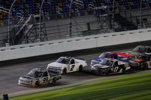 Christian Eckes, ThorSport Racing, Toyota Tundra, Sheldon Creed, GMS Racing, Chevrolet Silverado, Riley Herbst, Team DGR, Ford F-150, Stewart Friesen, Halmar Friesen Racing, Toyota Tundra Halmar International