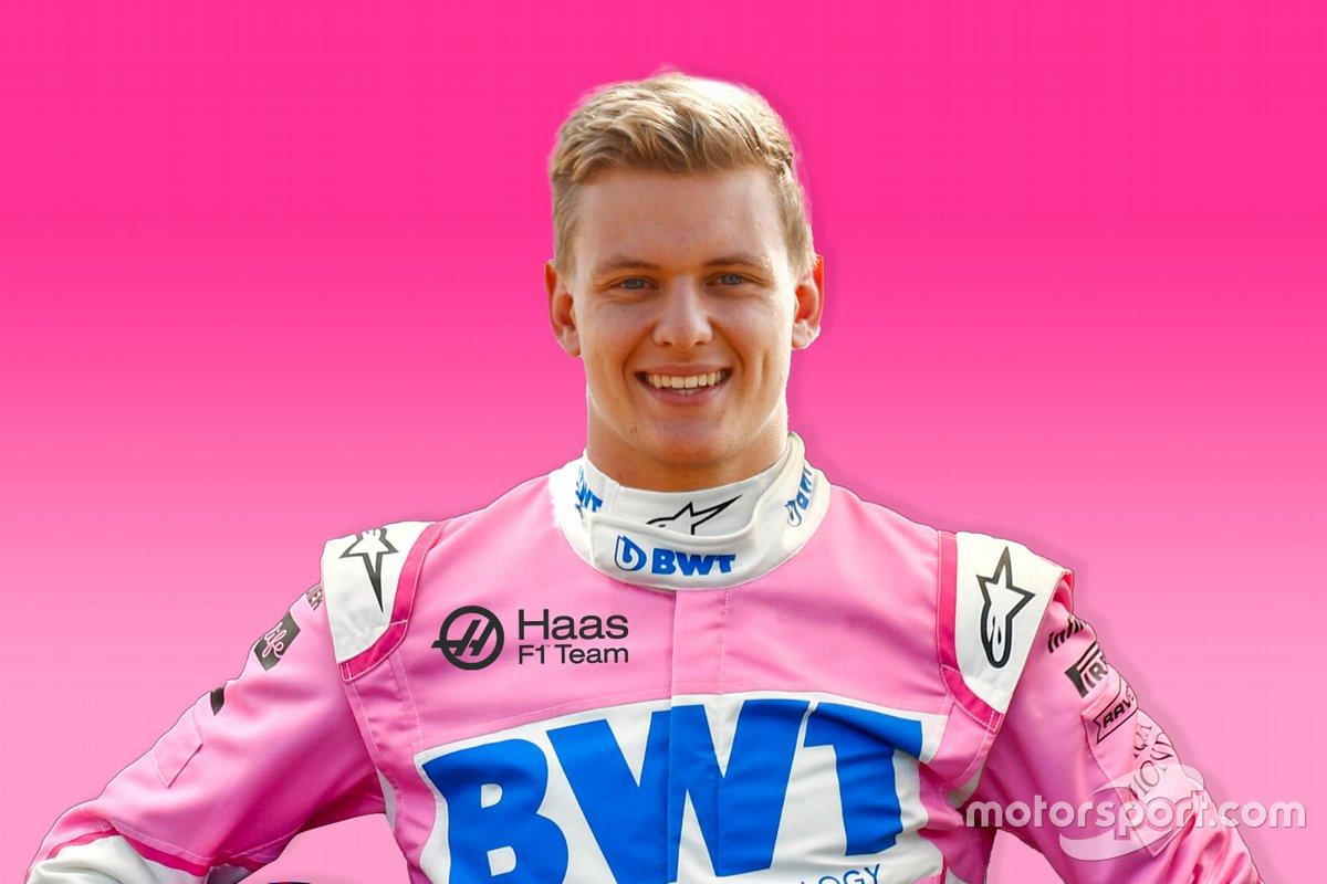 Mick Schumacher, Haas con i colori della BWT