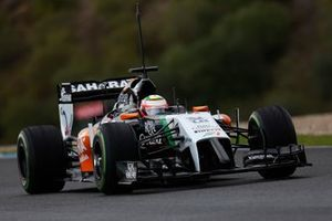 Sergio Perez, Force India VJM07 Mercedes