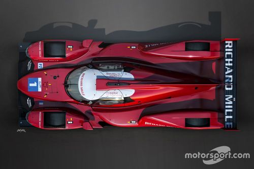 Presentación Richard Mille Racing Team