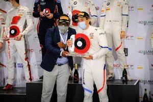 Podium: #34 Walkenhorst Motorsport BMW M6 GT3: Augusto Farfus