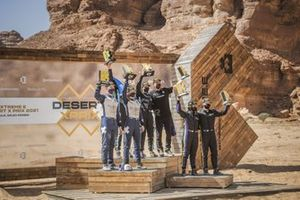 Catie Munnings, Timmy Hansen, Andretti United Extreme E Molly Taylor, Johan Kristoffersson, Rosberg X Racing Cristina Gutierrez, Sebastien Loeb, X44