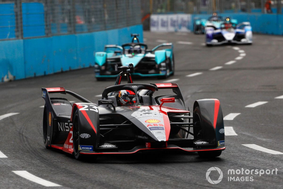 Sebastien Buemi, Nissan e.Dams, Nissan IMO2, Sam Bird, Jaguar Racing, Jaguar I-Type 5