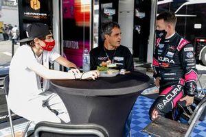 #60 Meyer Shank Racing w/Curb-Agajanian Acura DPi, DPi: Juan Pablo Montoya, A.J. Allmendinger