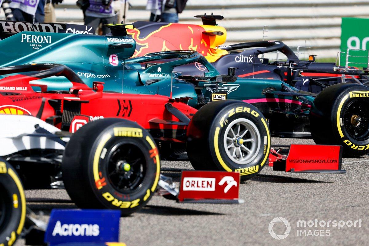 Neumáticos Pirelli en el Ferrari SF21