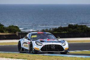 #888 Mercedes-AMG GT3 Evo: Prince Jefri Ibrahim, Jamie Whincup