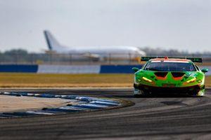 La Lamborghini Huracan GT3 GTD #19 du GRT Grasser Racing Team (Misha Goikhberg, Franck Perera, Tim Zimmermann)