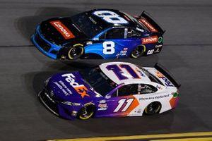 Denny Hamlin, Joe Gibbs Racing, Toyota Camry Tyler Reddick, Richard Childress Racing, Chevrolet Camaro