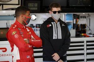 Bubba Wallace, 23XI Racing Toyota, Denny Hamlin, Joe Gibbs Racing Toyota