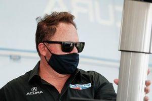#86 Meyer Shank Racing w/Curb-Agajanian Acura NSX GT3, GTD: Mike Shank