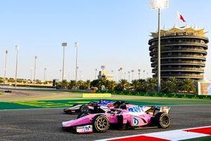 Artem Markelov, BWT HWA Racelab en Pedro Piquet, Charouz Racing System