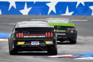 Kurt Busch, Chip Ganassi Racing, Chevrolet Camaro Monster Energy, J.J. Yeley, Rick Ware Racing, Chevrolet Camaro VICTORY LANE / KENDALL OIL