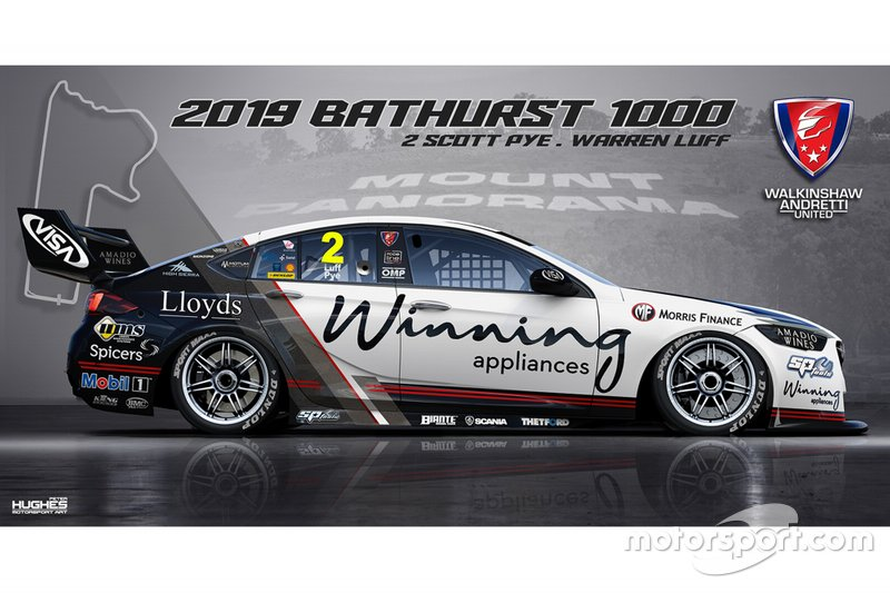 #2 Walkinshaw Andretti United Holden