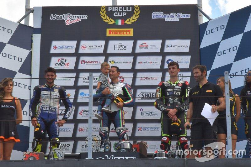 Podio, Pirelli Cup: Round 6