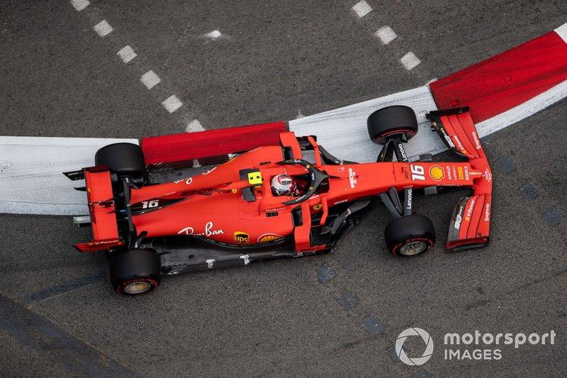 Поул-позиция: Шарль Леклер, Ferrari - 1.36,217