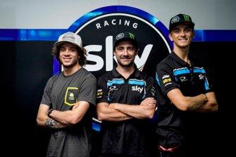 Luca Marini, Pablo Nieto, Marco Bezzecchi, SKY RACING TEAM VR46