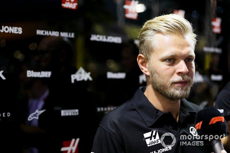 Kevin Magnussen, Haas F1 Team parle à la presse