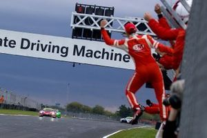 Race winners #47 TF Sport Aston Martin V8 Vantage GT3: Graham Davidson, Johnny Adam
