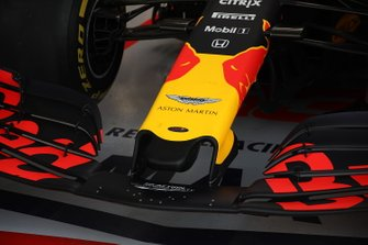 Red Bull Racing RB15, voorvleugel detail
