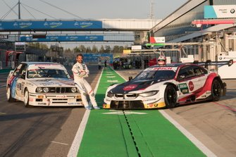 Timo Glock, BMW Team RMG with BMW E30 DTM and his BMW M4 DTM