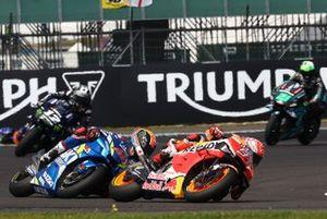 Marc Marquez, Repsol Honda Team,Alex Rins, Team Suzuki MotoGP