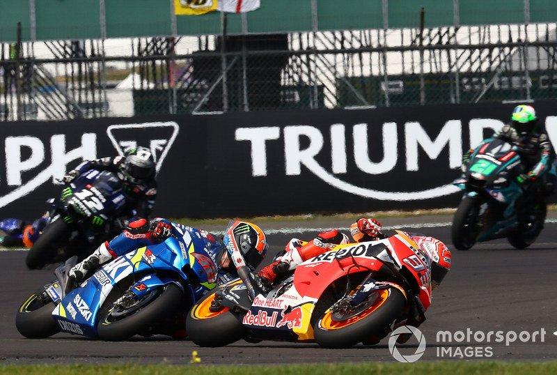 Marc Márquez, Repsol Honda Team,Alex Rins, Team Suzuki MotoGP
