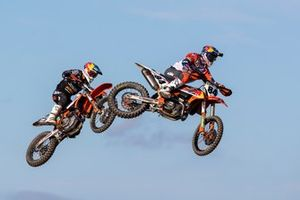 Jeffrey Herlings, Red Bull KTM Factory Racing en Glenn Coldenhoff, Standing Construct KTM