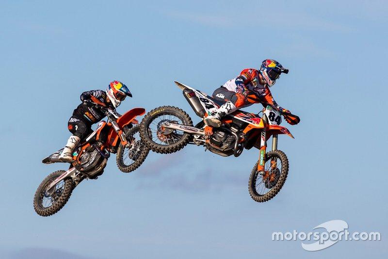 Jeffrey Herlings, Red Bull KTM Factory Racing en Glenn Coldenhoff, Standing Construct KTM