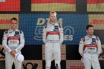 Podium: 1. René Rast, 2. Nico Müller, 3. Mike Rockenfeller