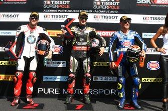 Tom Sykes, BMW Motorrad WorldSBK Team, Jonathan Rea, Kawasaki Racing Team, Sandro Cortese, GRT Yamaha WorldSBK