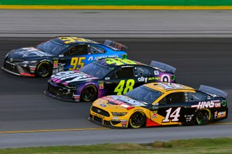 Three-Wide-Racing mit Chevrolet, Ford und Toyota