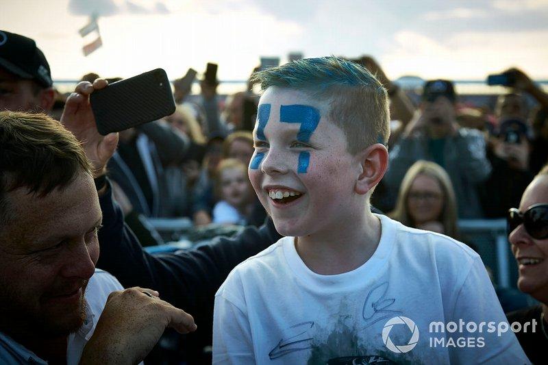 Un fan de Valtteri Bottas, Mercedes AMG F1