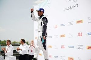 Bandar Alesayi, Saudi Racing, 3rd position, celebrates on the podium