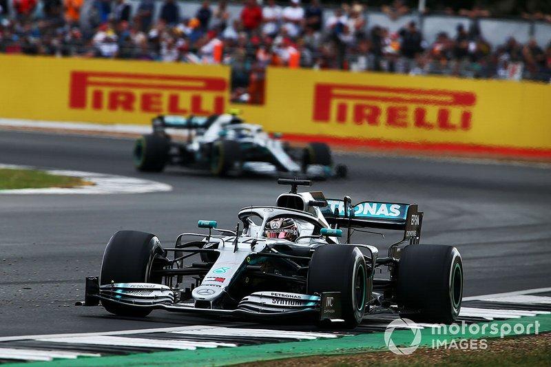 Lewis Hamilton, Mercedes AMG F1, prima posizione