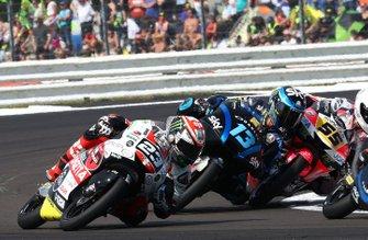Niccolo Antonelli, SIC58 Squadra Corse, Celestino Vietti, Sky Racing Team VR46, Romano Fenati, Team O crashing, Moto3 race