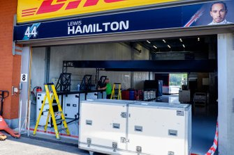 Garage of Lewis Hamilton, Mercedes AMG F1