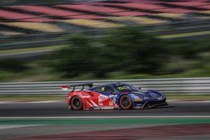 #75 T2 Motorsports Ferrari 488 GT3: Rio Haryanto, David Tjiptobiantoro