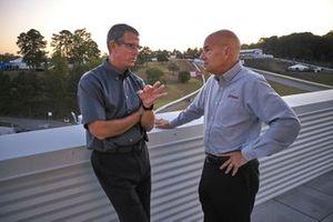 IMSA President and COO Scott Atherton with Johnny Knotts