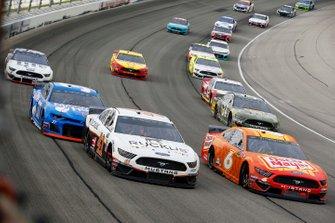 Daniel Suarez, Stewart-Haas Racing, Ford Mustang Ruckus and Ryan Newman, Roush Fenway Racing, Ford Mustang Oscar Mayer Hot Dogs