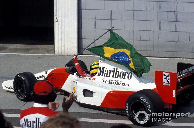 1992: Ayrton Senna, McLaren