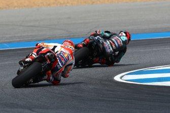 Fabio Quartararo, Petronas Yamaha SRT, Marc Marquez, Repsol Honda Team