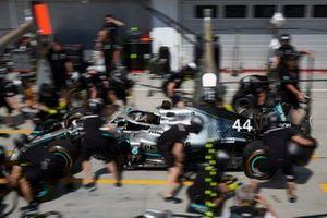 Mercedes AMG F1 prove del pit stop