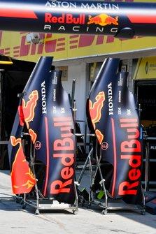 Cofani motore della Red Bull Racing RB15
