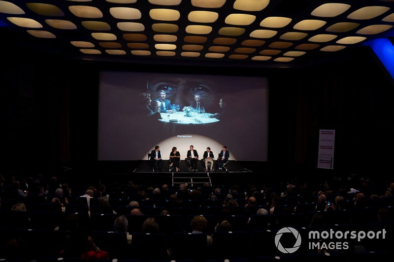 James Allen, Motorsport Network President, Michèle Mouton, Mika Hakkinen, Felipe Massa, Tom Kristensen