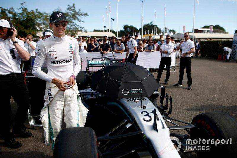 Esteban Ocon, Mercedes-AMG F1 W10 EQ Power+