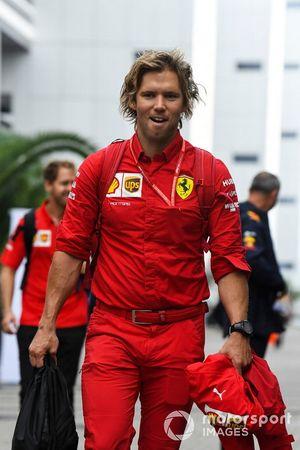 Antti Kontsas, Trainer for Sebastian Vettel, Ferrari