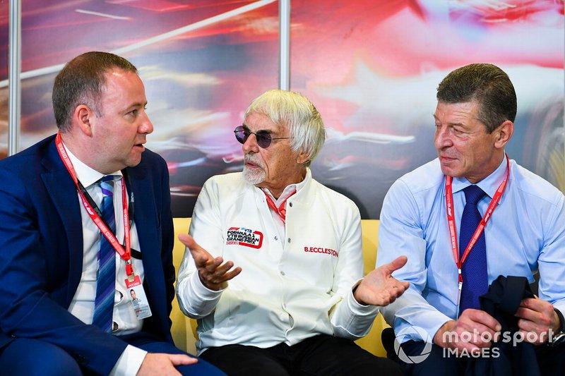 Dmitry Kozak, Deputy Primo Ministro della Federazione russa, incontra Bernie Ecclestone, Chairman Emiritus di Formula 1