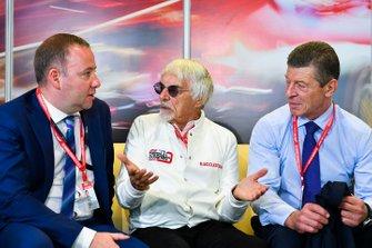Dmitry Kozak, Deputy Prime Minister of Russian Federation, meets Bernie Ecclestone, Chairman Emiritus of Formula 1
