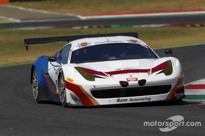 #158 Ferrari 458 GT3-GT Light, Iron Linx: Lippi-Sernagiotto